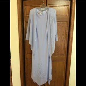 Mother of Bride sz 14 lilac dress Marcelle Couture